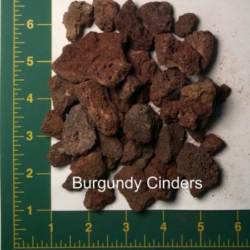 Burgundy Cinders